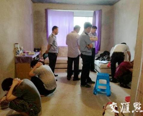 扬州警方今晨捣毁2处传销窝点抓获21人